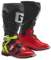 Мотоботы Gaerne G-React Goodyear Red-Yellow-Black