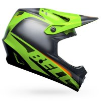 Шлем Bell MOTO-9 YOUTH MIPS Glory Matte Green-Black-Infrared