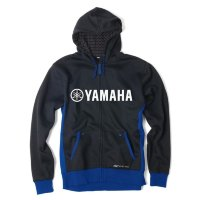 Толстовка Factory Effex Yamaha Lined Zip-Up Hoodie- Black-Blue