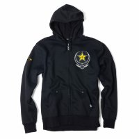 Толстовка на молнии Factory Effex Rockstar Imperial Zip-Up Hoodie- Black