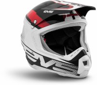 шлем EVS T5 Vapor Black - White - Red