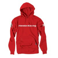 Толстовка Factory Effex Honda Racing Pullover Hoodie- Red
