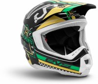 Шлем EVS T5 Rally Black - White - Green
