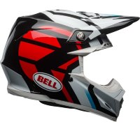 Шлем Bell Moto-9 Mips District Helmet /BLK/RD
