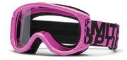 Маска детская Smith Junior Hot Pink - Clear Lens