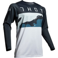 Джерси Thor S9 Prime Pro Fighter Blue-Camo