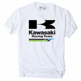 Футболка FX Kawasaki Racing T -Shirt- White - Футболка FX Kawasaki Racing T -Shirt- White