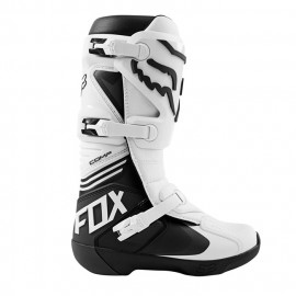 Мотоботы Fox Comp Boot White - Мотоботы Fox Comp Boot White