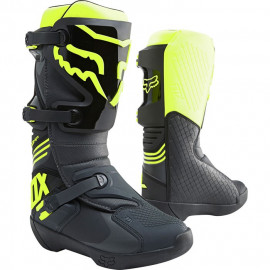 Мотоботы Fox Comp Boot Black/Yellow - Мотоботы Fox Comp Boot Black/Yellow